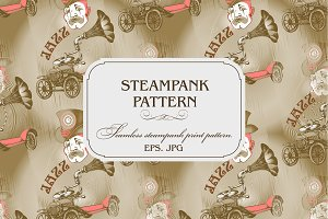STEAMPANK PATTERN