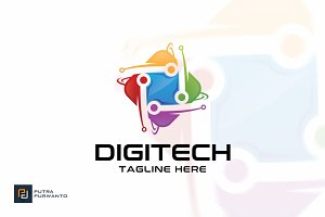Digitech - Logo Template