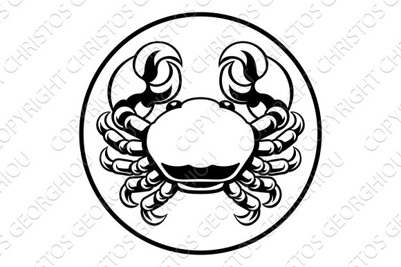 Crab Cancer Zodiac Horoscope Sign
