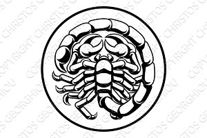 Scorpio Scorpion Horoscope Zodiac Sign