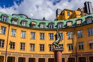 Brantingtorget in Old Town,Stockholm