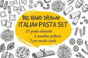 Italian pasta set