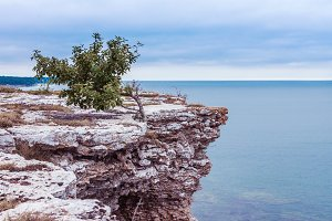 View of the coast on Gotland, Sweden