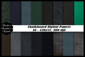SALE$3 Chalkboard Digital Papers