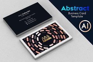 Abstract Business Card Template - 65