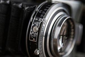 Film folding photo camera