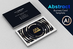 Abstract Business Card Template - 66
