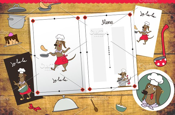 The Dog Cafe in Illustrations - product preview 2