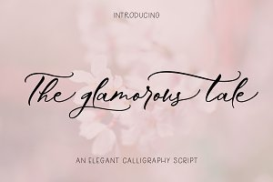 The Glamorous Tale | Elegant Script