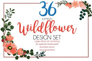36 Wildflowers + BONUS Patterns!!!