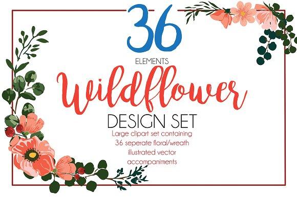 36 Wildflowers + BONUS Patterns!!!