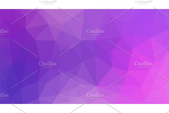 Abstract Purple Polygon For Background