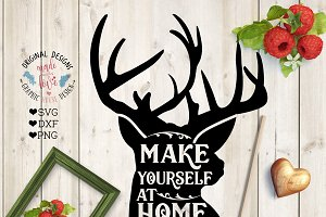 Make Yourself At Home Cut File