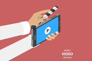 Mobile video creating