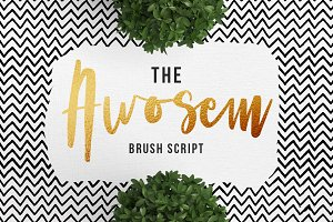 Awosem Typeface - Typography Quote
