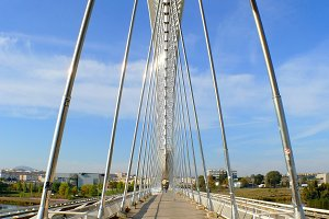 Lusitania bridge (Merida, Spain)