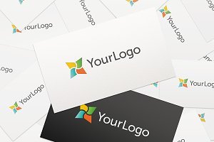 Logo Cards Mockup