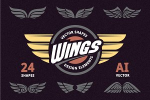 Epic Wings | Vector Elements