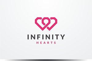 Infinity Hearts Logo
