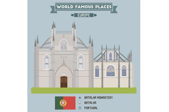 Batalha monastery. Portugal - Objects