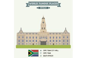 City Hall. Cape Town, South Africa