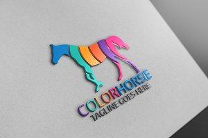 Color Horse Logo