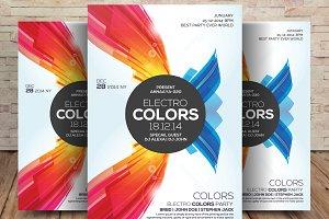 Electro Colors Club Flyer
