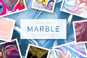 HUGE Marble Bundle • 200 files
