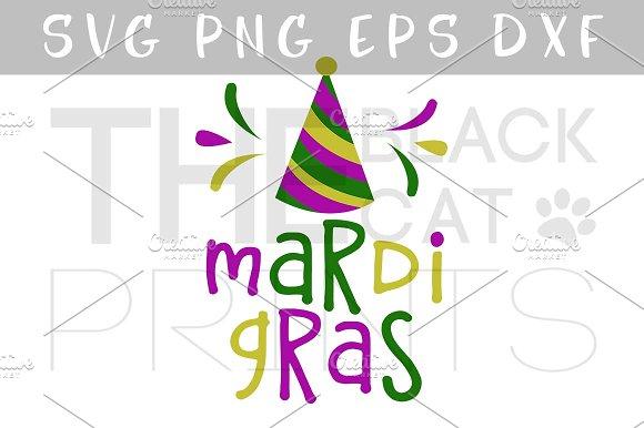 Mardi Gras SVG DXF PNG EPS