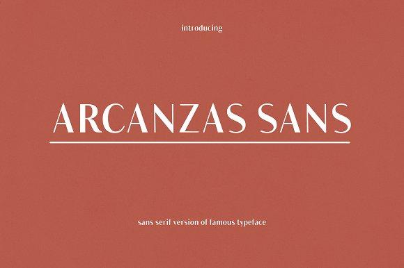 Arcanzas Sans