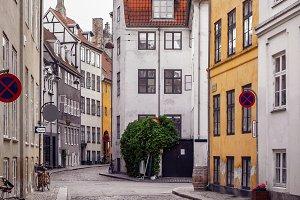 Street view of Copenhagen.
