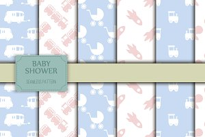Sweet baby pattern collection