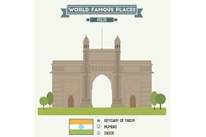 Gateway of India. Mumbai, India