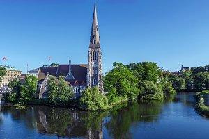 Sankt Albans Kirke in Copenhagen