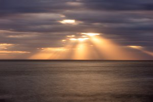 A sunrise on the Costa Brava