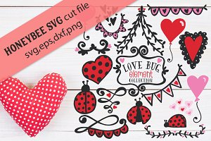 Love Bug BUNDLE with Cut files