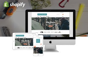 Into The Wild Theme for Shopify