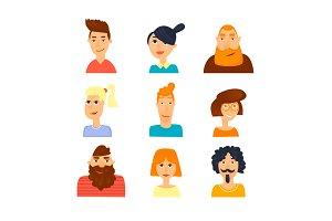 Characters avatars