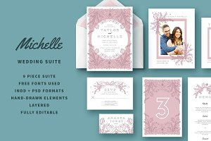 Wedding Invitation Suite | Michelle