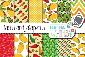 Taco Seamless Patterns