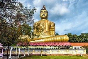 Big Buddha in Sri Lanka