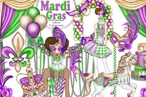 Mardi Gras fashion collection