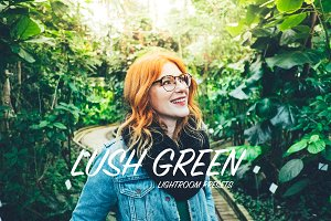 Lush Green Lightroom Presets