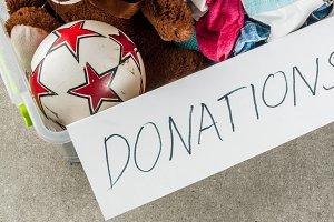 Donation box