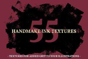 55 Handmade Ink Textures