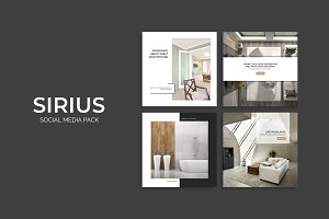 Sirius Social Media Pack