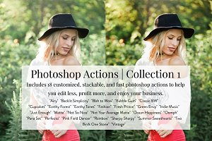 KW- Photoshop Actions | Collection 1