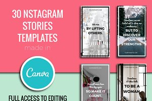 Instagram Stories Templates In Canva
