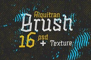 Alquitran Brush Psd+ Ai