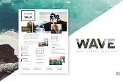 Wave Resume Template